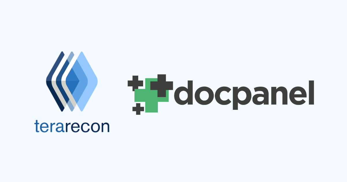 Teleradiology Innovator, DocPanel, Selects TeraRecon for Advanced Visualization and Artificial Intelligence Technologies