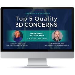 TeraRecon Insider Series-Top 5 Quality 3D Lab Concerns Session Recording Image