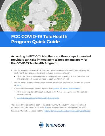 FCC COVID-19 Telehealth Program Quick Guide