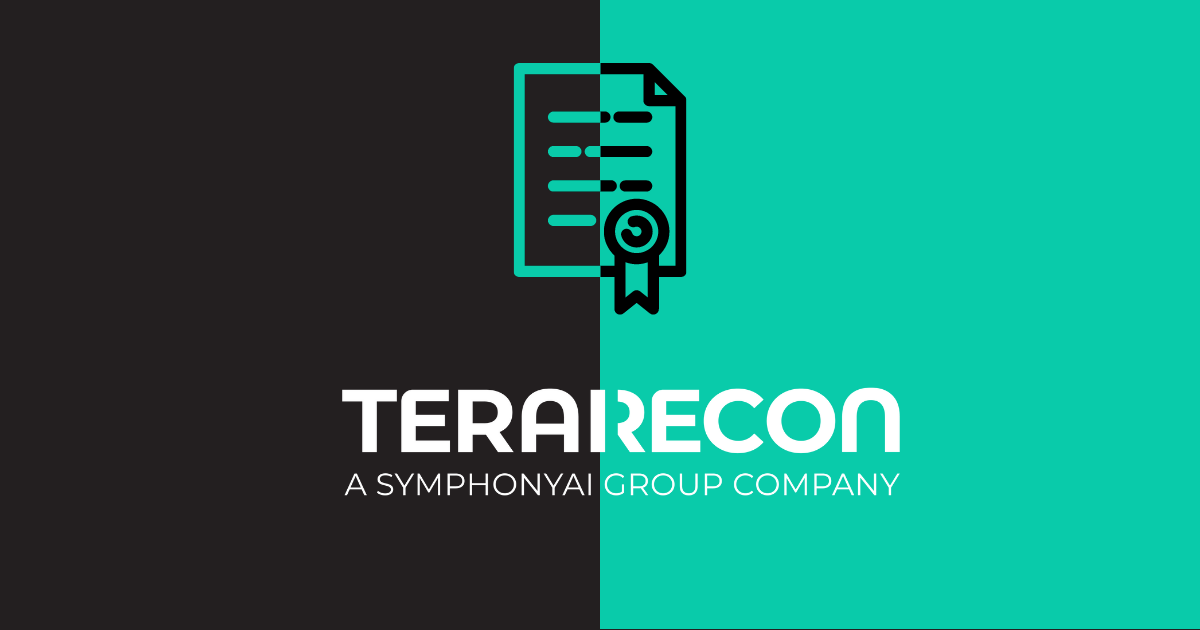 TeraRecon Awarded Landmark Patent for Diagnostic Imaging Clinical Reporting with AI - Final
