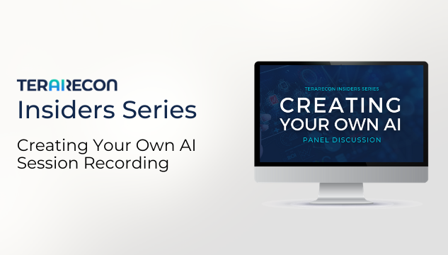 TeraRecon Insider Series- Creating Your Own AI