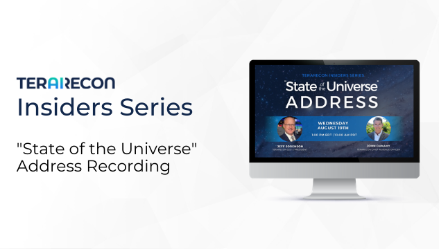 TeraRecon Insiders Series The State of the Universe Address Resources Page Image