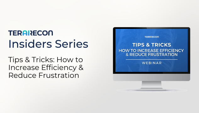 TeraRecon Insiders Series Webinar_Tips & Tricks How to Increase Efficiency and Reduce Frustration _ Resources Page (1)