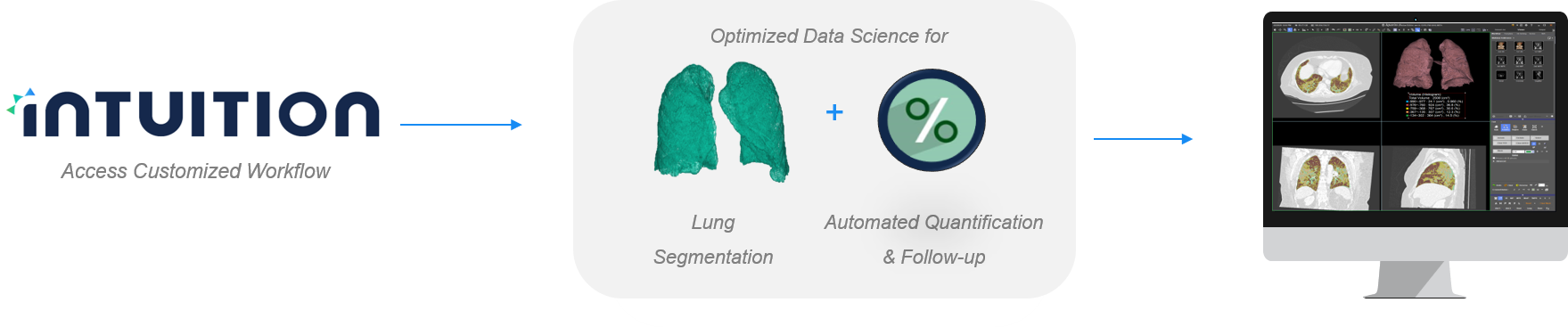 lung density workflow